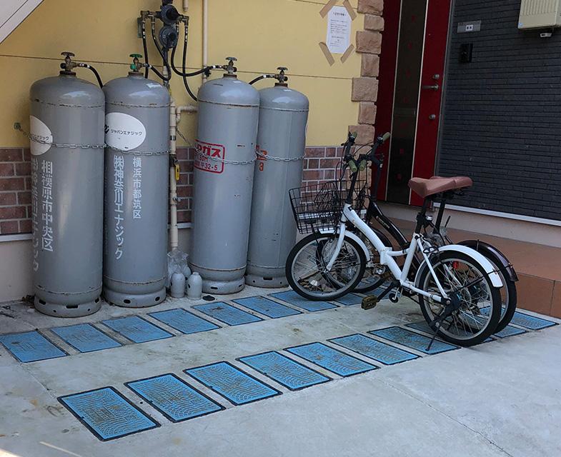 放置自転車回収