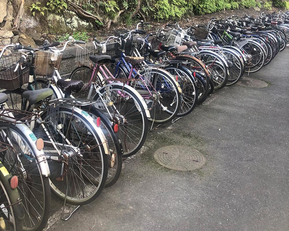 回収自転車